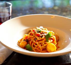 Spaghetti Pomodoro.