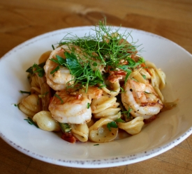 Pasta Shrimp Fennel
