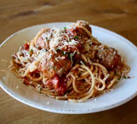 Pasta Spaghetti & Meatballs