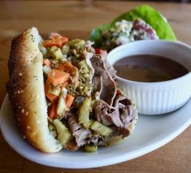 Sandwich Hot Beef